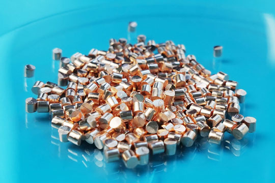 Copper Pellet Evaporation Material Video