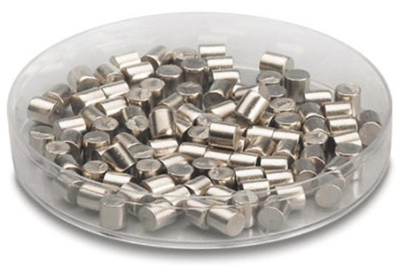 Indium Pellet Evaporation Material (In)