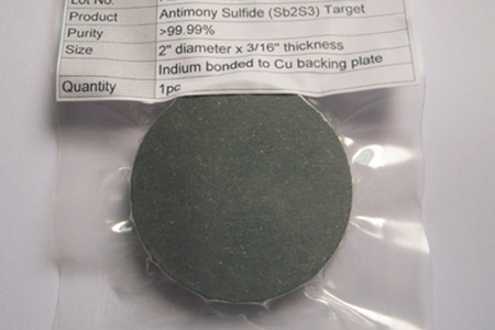 Antimony Sulfide Sputtering Targets (Sb2S3)